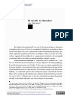 WACQUANT - El Suicidio de Bourdieu