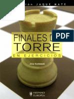 Finales de Torre en Ejercicios - J. Konikowski