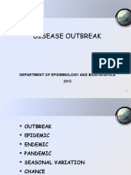 7. Disease Outbreak 2013