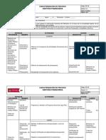 Caracterizacion de Proceso Gestion Financiera