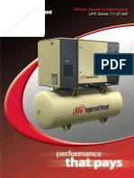 UP5-11-37kW Fixed Speed compressor Brochure