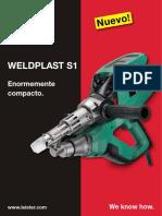 Leister Plastic-Welding FL WELDPLAST-S1 ES