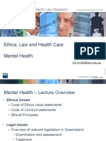 LWS101 - Lecture Slides - Mental Health Law