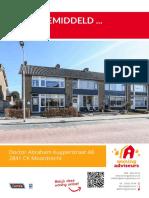 Brochure - Dr. Albert Kuyperstraat 48 te Moordrecht