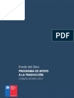 Bases Programa Apoyo Traduccion 2017