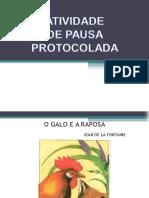 Atividade de Pausa Protocolada 1