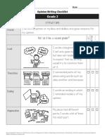 opinion student checklist copy