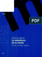 Kenny Anthony - La Metafisica De La Mente.pdf