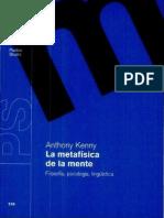 Kenny Anthony - La Metafisica De La Mente.pdf