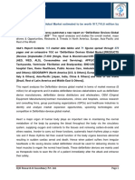 """IQ4I Research & Consultancy published a new report on """"Defibrillator Devices Global Market  – Forecast To 2023"""""""