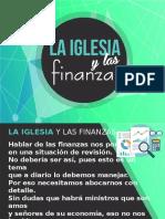 La Iglesia y Las Finanzas (1)