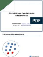 03. Probabilidade Condicionada e Independencia