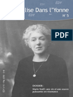 EDY n°5-2016 Dossier Marie Noël