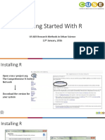 Getting Started With R