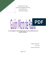 Guion de Radio Grupal, grupo 3 Formación Estética Corporal