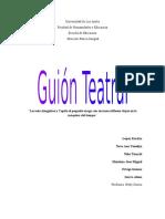 Guion de Teatro Grupal