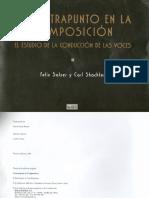 Libro de Contrapunto Conducción de Las Voces