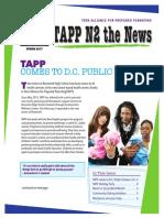 TAPP Newsletter Spring 2017