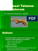 9. Tetanus Neonatorum