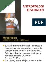 Antropologi Kesehatan 1