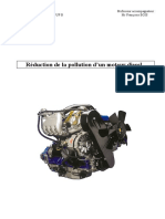 Reduction de La Pollution d Un Moteur Diesel