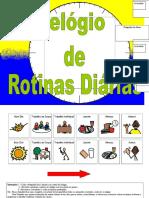 Relogio de Rotinas Diarias