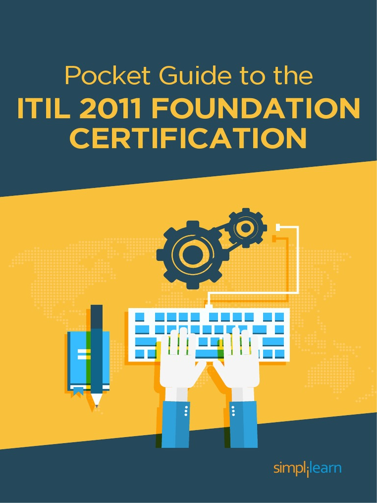 Pocket Guide to the ITIL 2011 Foundation Certification 1 2 | Itil | It  Service Management