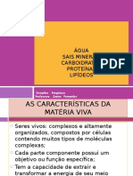 Ã-gua, Carboidratos e Sais Minerais AULA 2 [Reparado] Unesc