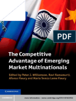 Peter J. Williamson, Ravi Ramamurti, Afonso Fleury, Maria Tereza Leme Fleury (Eds.)-The Competitive Advantage of Emerging Market Multinationals-Cambridge University Press (2013) (1)