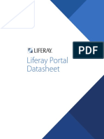Liferay Portal 6 2 Datasheet
