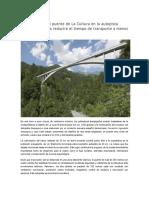 Construcción Del Puente de La Cultura en La Autopista Arequipa