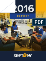 2016 Startup NY Report