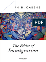 [Joseph Carens] the Ethics of Immigration Full Book
