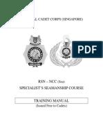 Ncc Sea Spec Course Book Seamanship