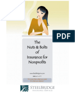 The Nuts & Bolts of Insurance for Nonprofits