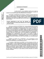 Edicto de Publicacion de Bases Especificas Bolsa de Empleo Local