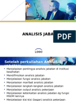 Msdm 3 - Analisis Jabatan
