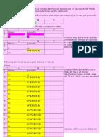 Regla de 3 en Excel