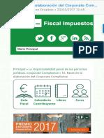 10. Fases en la elaboración del Corporate Compliance  Fiscal impuestos - Derecho fiscal, tributación e impuestos.