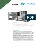 HP 2530 Switch Series DataSheet