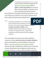 Los Compromisos Ambientales de Chile Adquiridos en La COP21 - VeoVerde