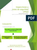 Capacitacion CPHS Inspecciones y Observaciones