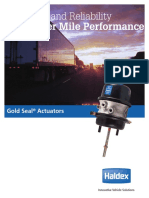 Haldex Gold Seal Brochure