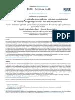 Teorias Institucionais Aplicadas Aos Estudos de Sistemas Agroindustriais