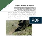 Calculo de Reservas de San Pedro Amayane