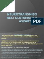 Neurotransmisores Glutamato y Aspartato