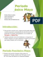 El Periodo Posclásico Maya