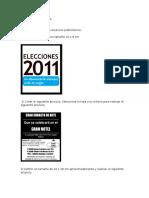 Ejercicios Publisher