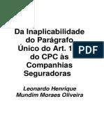 Da Inaplicabilidade do Parágrafo Único do Art. 100 do CPC à.pdf