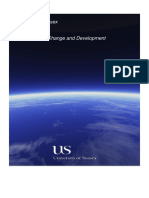 MSc Climate Change and Development